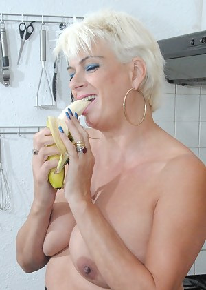 I'm just in my little white panties when along comes dirty old Fred.He will rip them off and soon have his cock in me wh