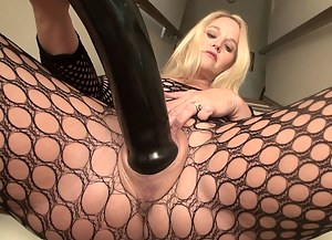 Wow! These MONSTER TOYS feel great inside my married pussy. Stretching me until I can't take any more. Using two of my favorite GIANT DIDLOS and a PUSSY PUMP, I make my self cum over and over again. Which one of you Siren Strokers wants to fuck me after?