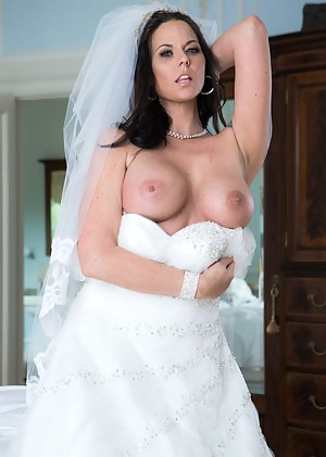 Well, she can't stop craving cocks and getting cold feet about her wedding so nobody could blame her for cheating on her wedding day.