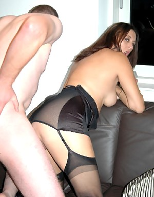 Went to help Juicyjo at a shoot in Newcastle, leading the guy by his cock..off to the bedroom...for juicyjo to show him