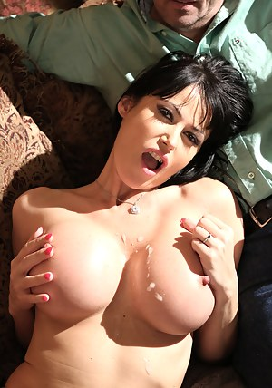 Super sexy Euro bird Eva Karera is seeking some Shane black thick cock. Eva whips out her juicy tits and starts sucking on Shane's pulsing cock before taking inch by inch inside her wet pussy. Eva fucked that monster cock and and had it blowing gallons of