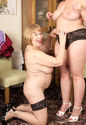 Hi Guys after bending over so you can enjoy a few shots of our gorgeous Arses its time to get our Knickers off and get d