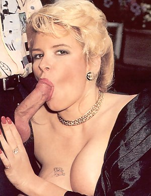 Real retro and blonde pornstar fucking hard for the camera