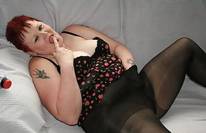 Member request who luvs black pantyhose and basques. So I added a few pics of him to the set as well.