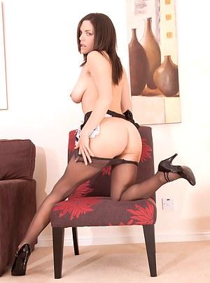 Naughty milf fucks her sweet pussy in her bedroom until she has multiple orgasms