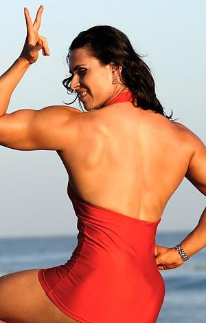 Lada Phihalova, Sexy Muscle Dress