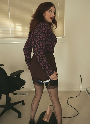 A sybian in the office