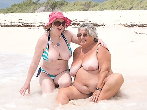 Hi Guys, More Pics from my Holiday in Barbados with Grandma Libby, We had gone down to a secluded beach for this shoot a