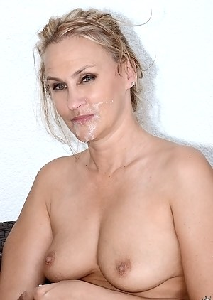 Slutty MILF wants her man to touch her sweet vagina and to present her with cunnilingus before drilling her with his big cock.