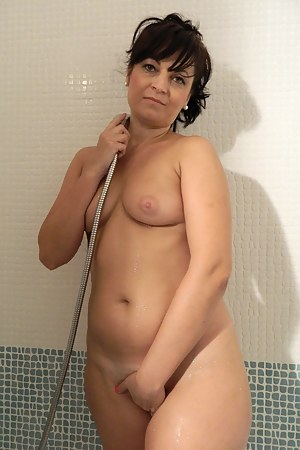 Horny housewife masturbating and getting wet