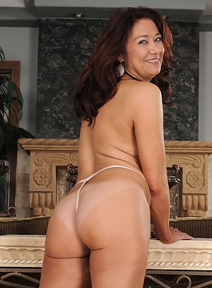 52 year old Renne Black from AllOver30 looking very sexy in lace