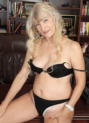 Naughty American housewife getting ready to be dirty