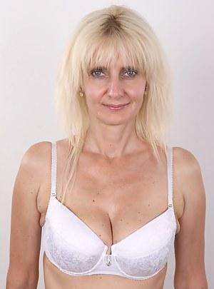 Ivana is a sophisticated secretary who came to our agency for her first casting. At the beginning, it seemed that the mother of two is an ice queen. She didn't want to be shagged. She wasn't willing to eat out any pussy. However, she confessed her dream i