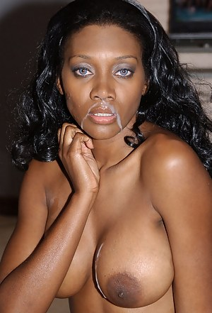 It is always a cool idea to have sensational interracial sex. The chocolate lady it taking unforgettable care of her lover's white penis.