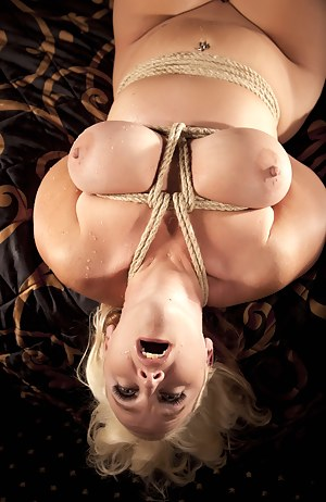 So a local photographer with some rope knotting skills wanted to tie me up and take photos of it. I think he did a pretty good job.  What do you think?