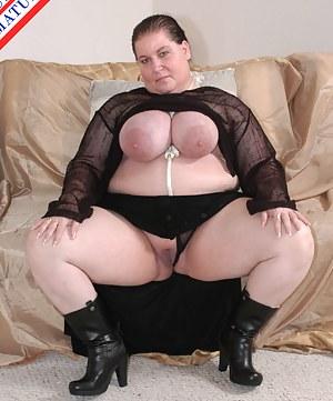 Black cock loving chubby mature slut