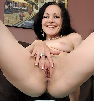 Flexible MILF Claudia K does some extreme naked stretches here