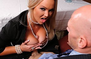 The guy's all about doing something romantic, while this slutty-ass MILF just wants to blow his cock and fuck him in a public place.