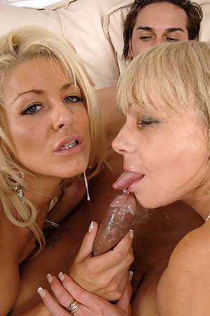 Terrific UK pornstar threesome featuring Milf honeys Jane Bond and Tia Layne in fishnet stockings and heels getting fucked silly! Enjoy these two sex mad mature British honeys as they get their UK bodies screwed in another terrific UK porn scene