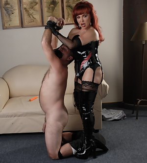 This slave is going to do everything and anything I tell him