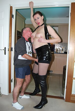 Cute british sweetheart fucked by a very old dude hardcore