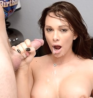 Slutty woman wants to present her partner with amazing cake. However, her prefers fucking her juicy holes with his strong penis.