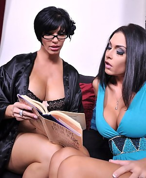 Jessica Jaymes is having issues with her boyfriend so she decides to pay her boyfriend's mom , Shay Fox a visit. After sitting down with her and discussing the issues, Shay comes on to Jessica. Seducing her with her feminine touches and special toys!