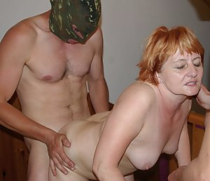 These grannies get banged by the kinky gang