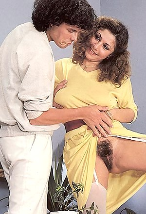 Sexy seventies lady gets fucked by her hot and horny gigolo