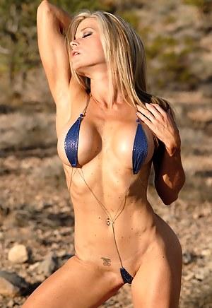 Christy Allen, Sexy Swimsuit