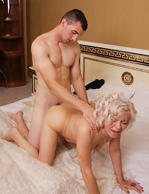 This toy boy sure knows how to please a naughty housewife