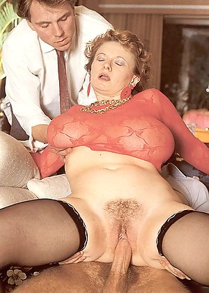 Insane huge retro mellons creamed with a sticky semen load
