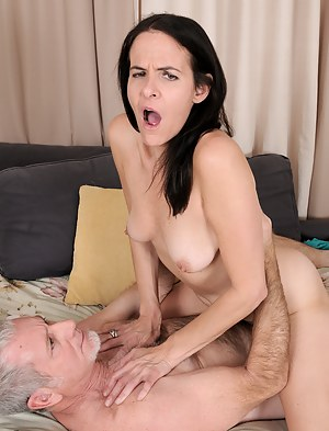 Long legged MILF Maggie K gets licked and fucked by her lucky man