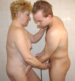 Horny granny gets a fuck like she never had before
