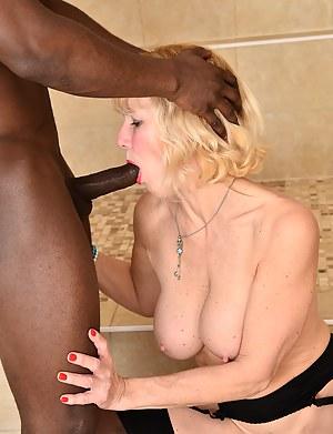Blonde MILF Molly Maracas enjoys a steamy interracial hardcore afternoon