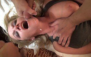 I just finished up doing an interview for HotWifeLife.com, and nothing gets me hornier than talking about fucking lots of guys than actually doing it. So, as I got worked up during the interview, my gracious hubby was setting up a few guys to come over to