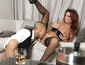 This hot milf get fucked in every way possible and loves it!