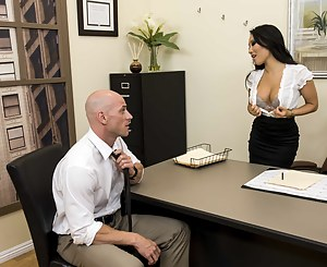 Nothing subtle about Asa's seduction techniques. She just uncovers her pussy and lets the hop to it. Also, she loves anal sex.