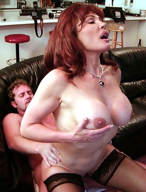 Sweet ginger lady is practicing awesome solo using big sex toys. She is also enjoying wild sex with her man riding and sucking his big cock.