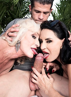Rita Daniels, Leah L'Amour and a 28-year-old