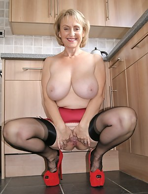 In the kitchen this week getting ready for my favourite recipe cock and spunk what a gorgeous combination, lets start by