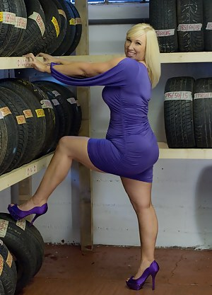 After getting my tyres last week, I thought I should go and see where they fit them. Melody x