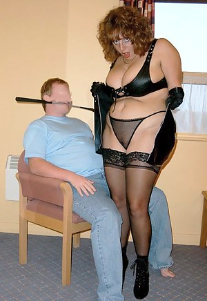 Satisfy Me - My leather outfit and riding crop make sure that this lucky TAC member does exactly what I tell him to do.