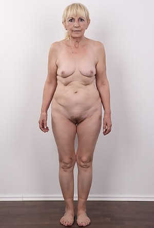 Anna is one of the most mature casting participants. A slender widow comes across as a nice and virtuous woman. She doesn't speak much but she made herself clear about her preferences. She loves to fuck and she's grateful for every hard cock. She needs mo
