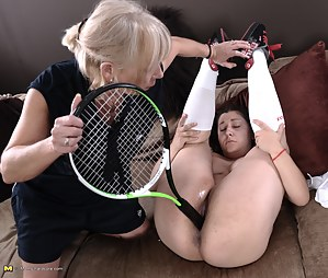 Naughty pupil gets special lessons from her lesbian tutor