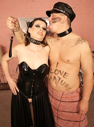 Kinky mature couple love creampie fetish parties