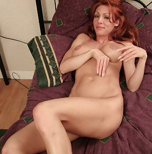Lustful ginger model is enjoying unforgettable sex with her man. She is getting her holes drilled with his cock and fingering her clitoris.