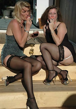 A boring party can suddenly get livelier after sneaking out back and finding Irene to share a smoke and glass of wine wi
