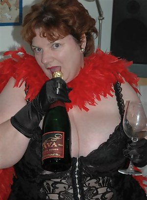I also had some of the photos taken outside for the benefit of my neighbours A glass of champagne is always pleasant on