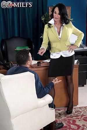 The Ass-fucked Boss Is Named Rita Daniels
